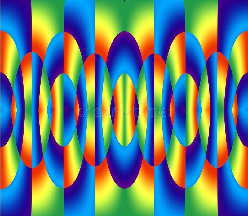 абстрактные цветастые кольца бесплатная иллюстрация