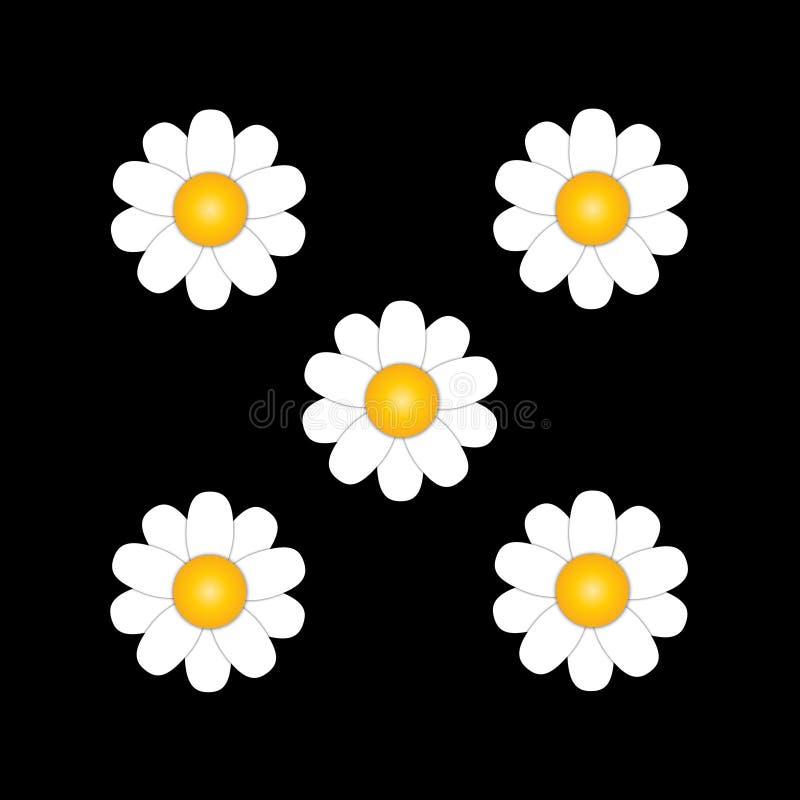 Абстрактные цветки делают по образцу предпосылку, иллюстрацию векторной графики иллюстрация вектора