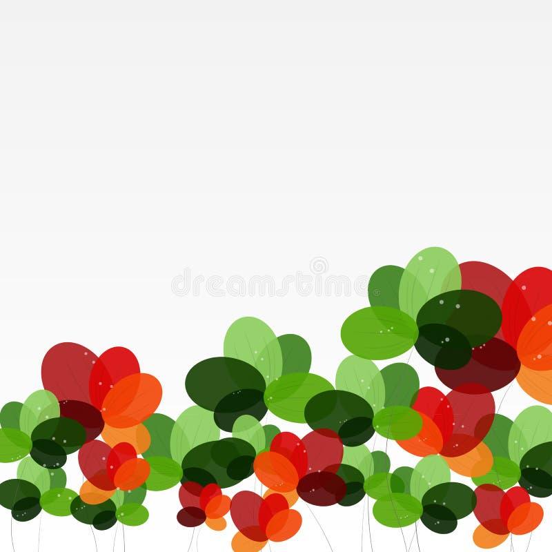 Download абстрактные цветки предпосылки также вектор иллюстрации притяжки Corel Иллюстрация вектора - иллюстрации насчитывающей самомоднейше, цветок: 40585391