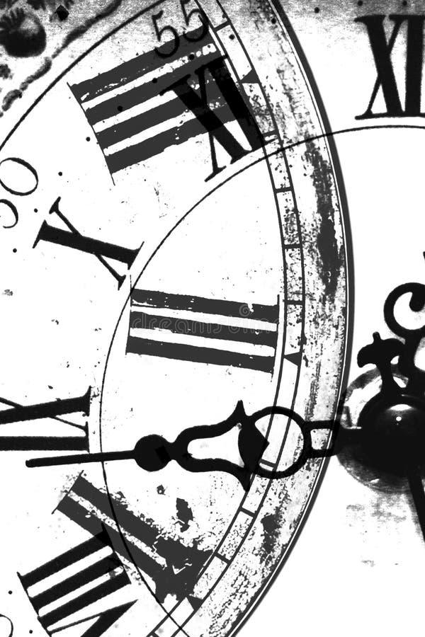 абстрактные часы иллюстрация вектора