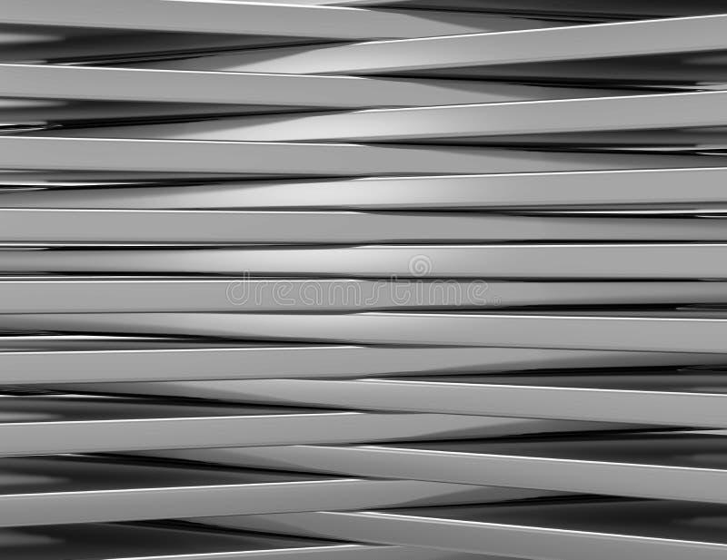 Абстрактные черные панели с copyspace для текста иллюстрация вектора