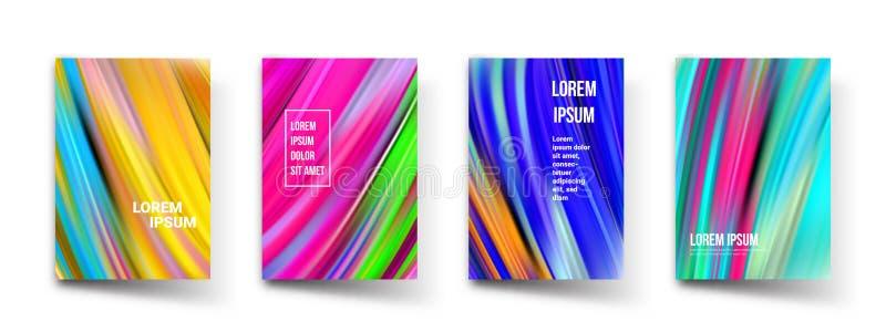 Абстрактные шаблоны предпосылки градиента цвета картины Графический дизайн вектора современный абстрактный геометрический, минима бесплатная иллюстрация