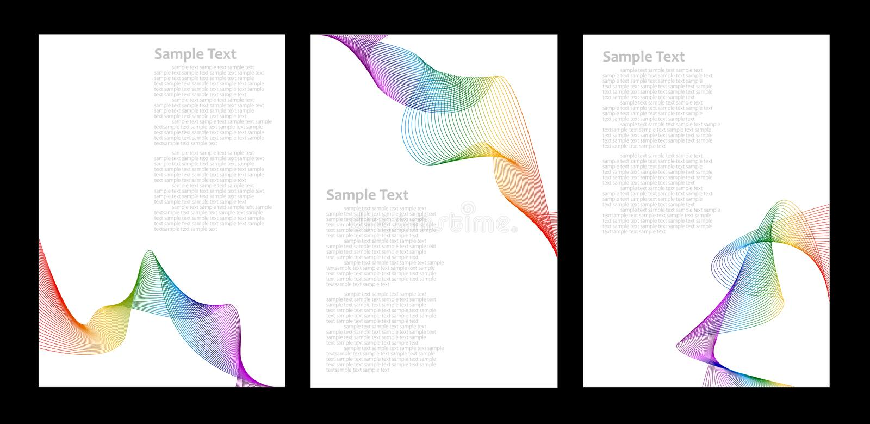 абстрактные шаблоны радуги цвета предпосылки бесплатная иллюстрация