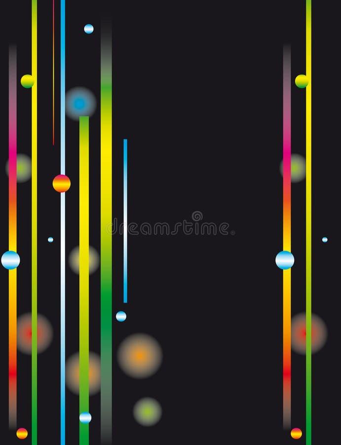 абстрактные элементы предпосылки светящие бесплатная иллюстрация
