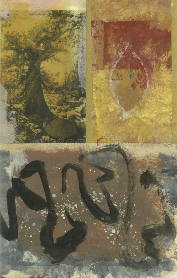 абстрактный вал листьев бесплатная иллюстрация