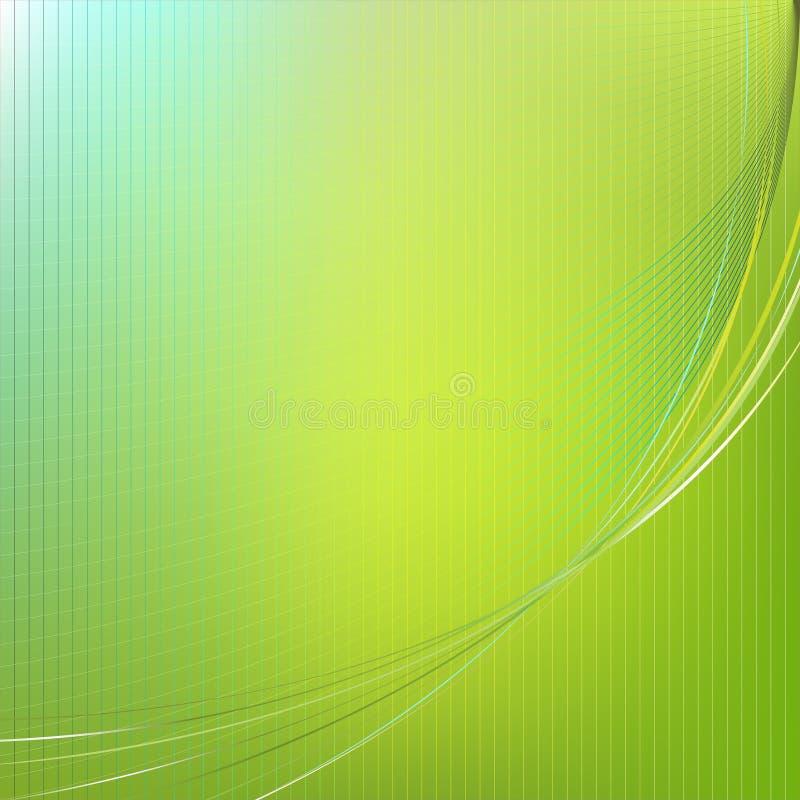 абстрактный вектор зеленого цвета предпосылки иллюстрация штока