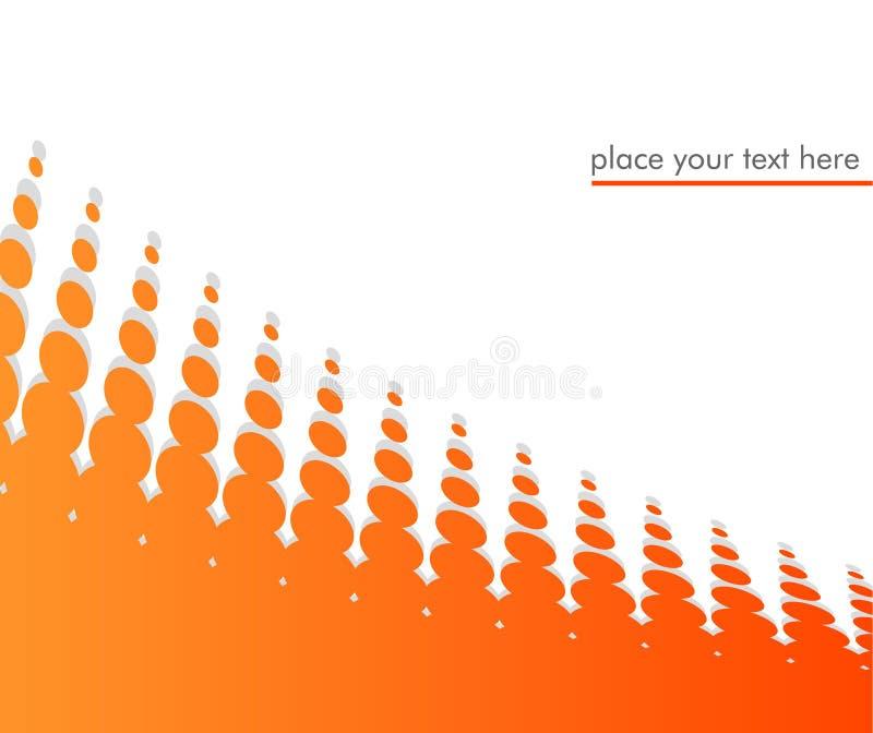 абстрактный вектор иллюстрации halftone бесплатная иллюстрация