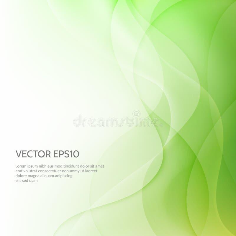 абстрактный вектор предпосылок Сияющая предпосылка дела с волной стоковые фото