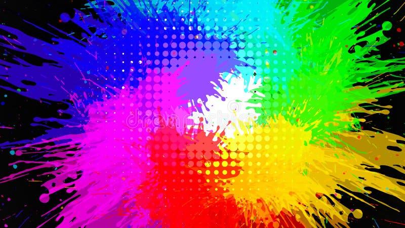 абстрактный вектор grunge предпосылки иллюстрация вектора