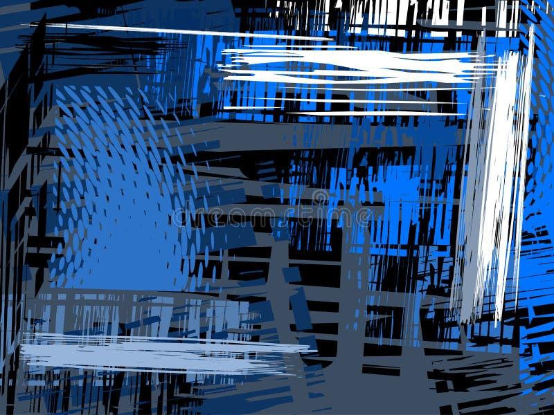 абстрактный вектор grunge предпосылки иллюстрация штока