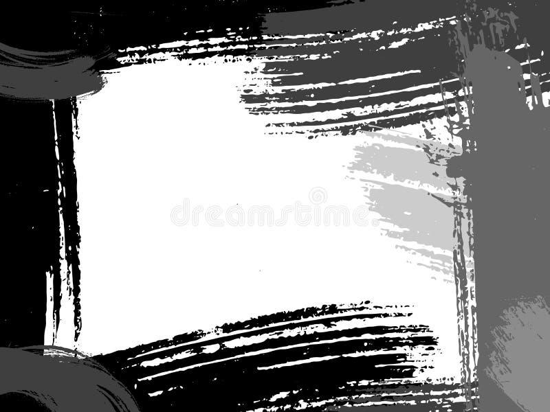 абстрактный вектор grunge рамки иллюстрация вектора
