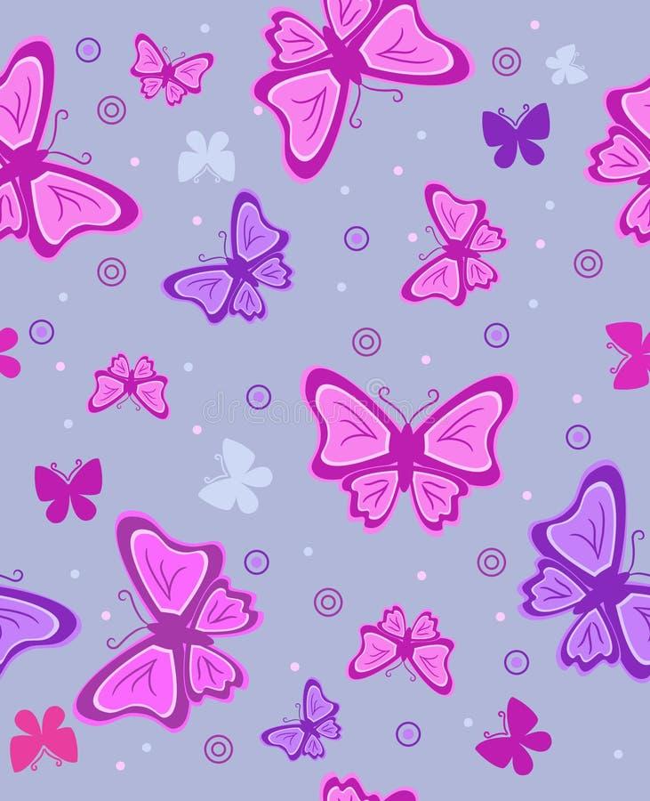 абстрактный вектор illus бабочек предпосылки стоковая фотография rf