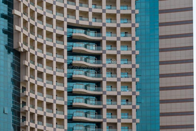 Абстрактный взгляд современного здания стоковые фотографии rf
