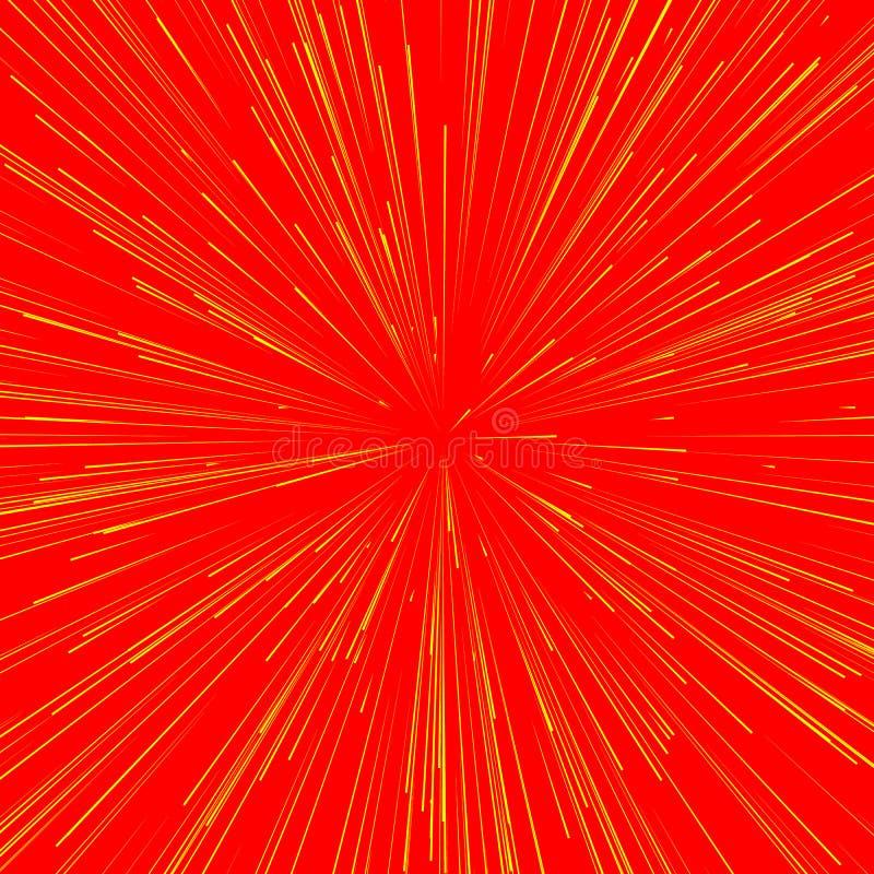 Download Абстрактный взрыв, взрыв, лучи, лучи, вспышка, яркий блеск, фейерверк Иллюстрация вектора - иллюстрации насчитывающей радиация, свободно: 81806505