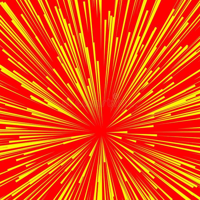 Download Абстрактный взрыв, взрыв, лучи, лучи, вспышка, яркий блеск, фейерверк Иллюстрация вектора - иллюстрации насчитывающей линии, шуточно: 81806573