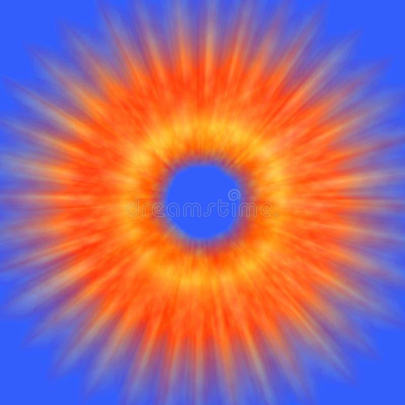 абстрактный взрыв иллюстрация вектора
