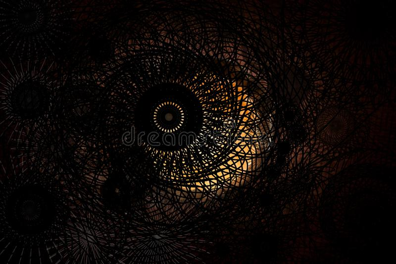 абстрактный вортекс предпосылки иллюстрация штока