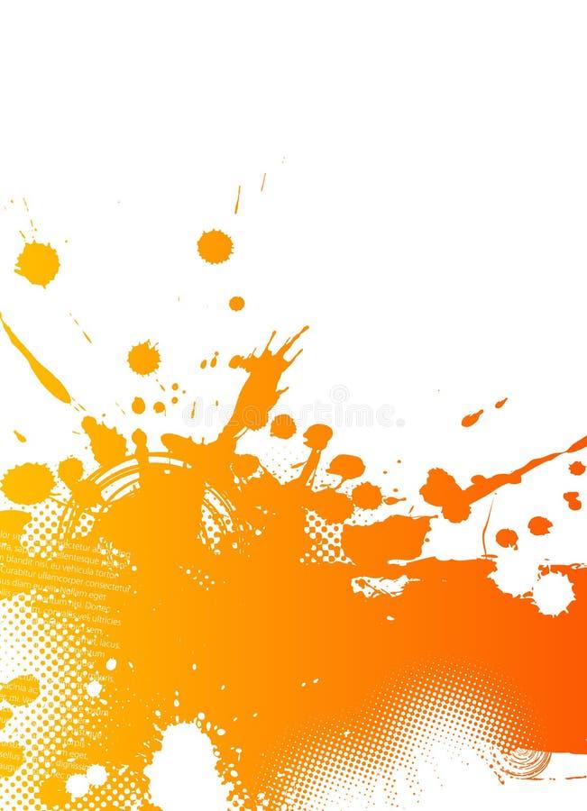 абстрактный выплеск иллюстрации бесплатная иллюстрация