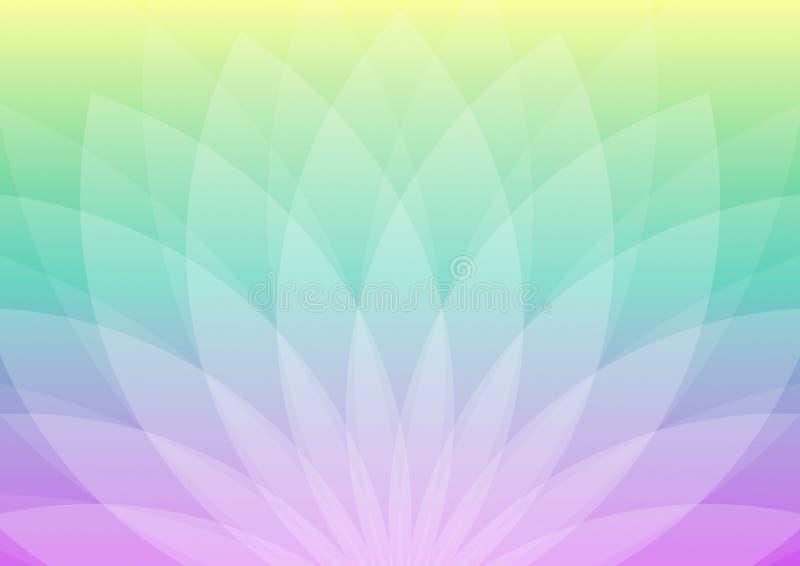 Абстрактный в форме цветк орнамент стоковая фотография rf