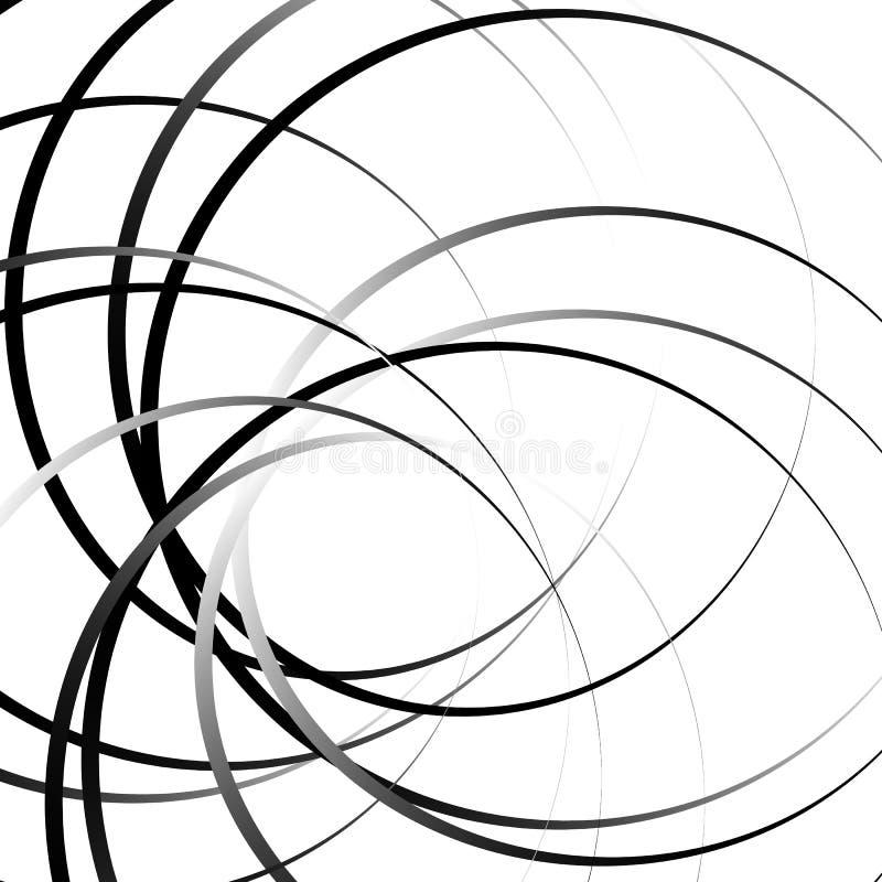 Download Абстрактный геометрический круговой элемент Излучать скачками форму Иллюстрация вектора - иллюстрации насчитывающей геометрическо, иллюзорно: 81813975