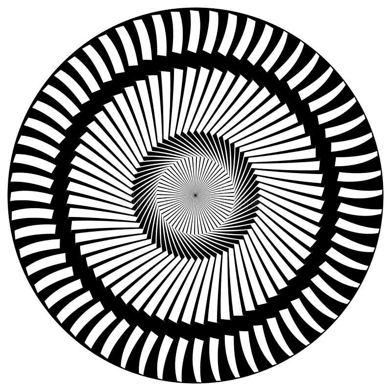 Download Абстрактный геометрический круговой элемент Излучать скачками форму Иллюстрация вектора - иллюстрации насчитывающей разносторонне, наконечников: 81814191