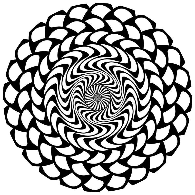 Download Абстрактный геометрический круговой элемент Излучать скачками форму Иллюстрация вектора - иллюстрации насчитывающей мандала, конспектов: 81814717