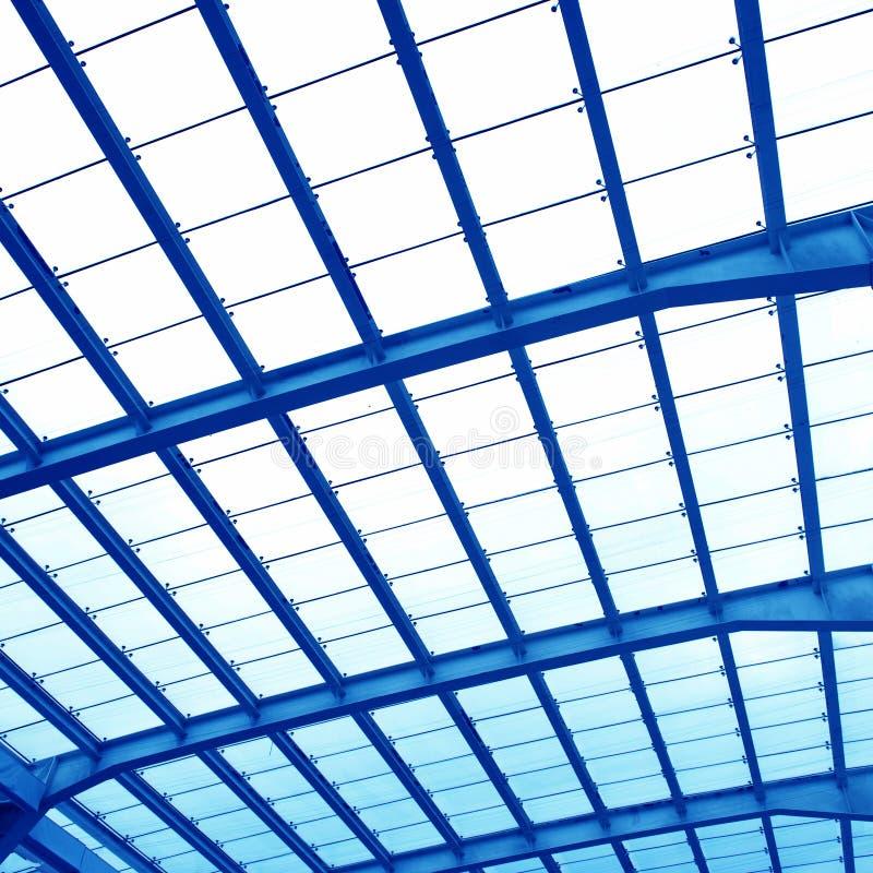 Абстрактный геометрический потолок стоковая фотография