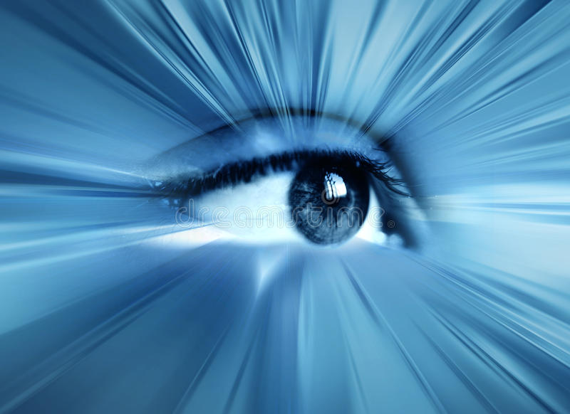 абстрактный глаз иллюстрация штока