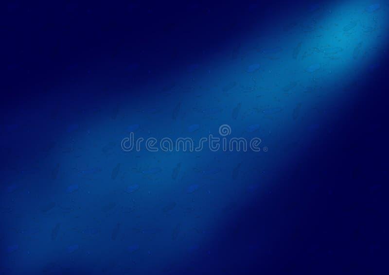 Абстрактный голубой дизайн предпосылки волны нерезкости стоковые фото