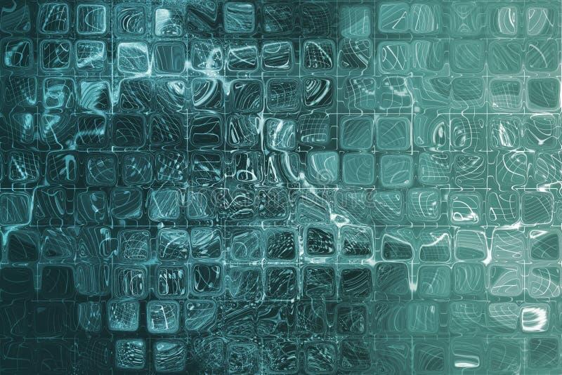 абстрактный голубой корпоративный интернет решетки данных бесплатная иллюстрация