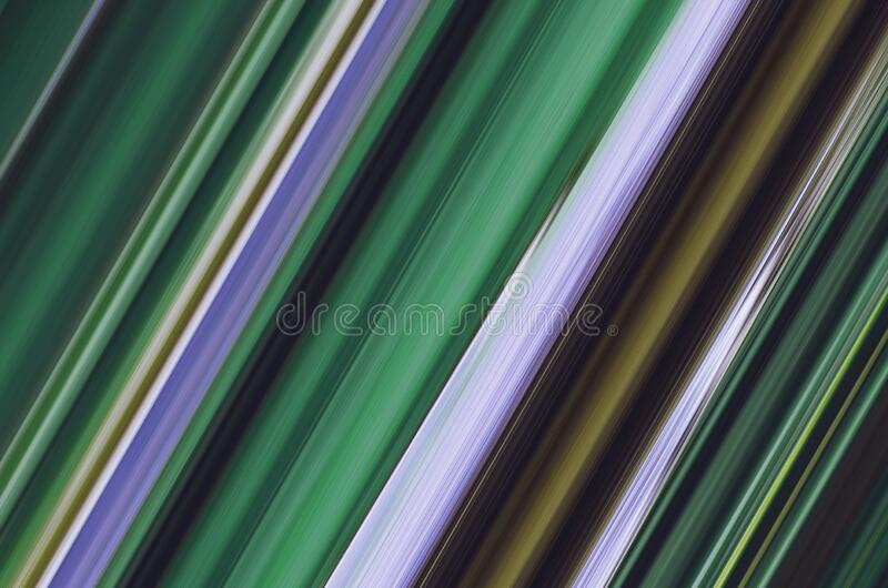 Abstract gradient multicolored striped background. Shades of green.  vector illustration