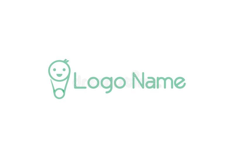 Абстрактный дизайн логотипа бесплатная иллюстрация