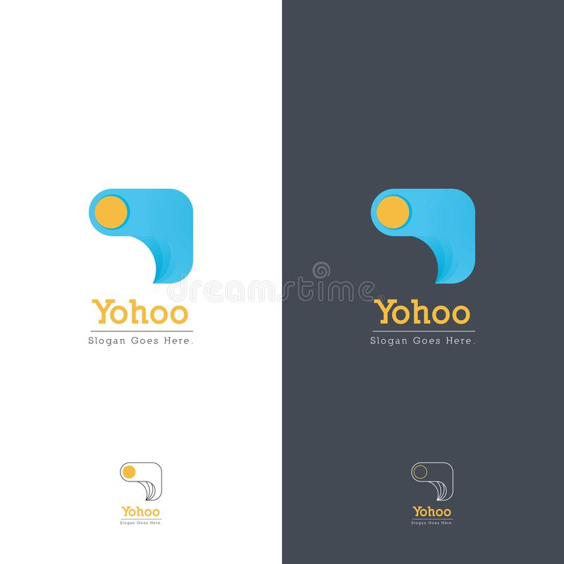 Абстрактный дизайн логотипа любит швейная машина стоковые фото