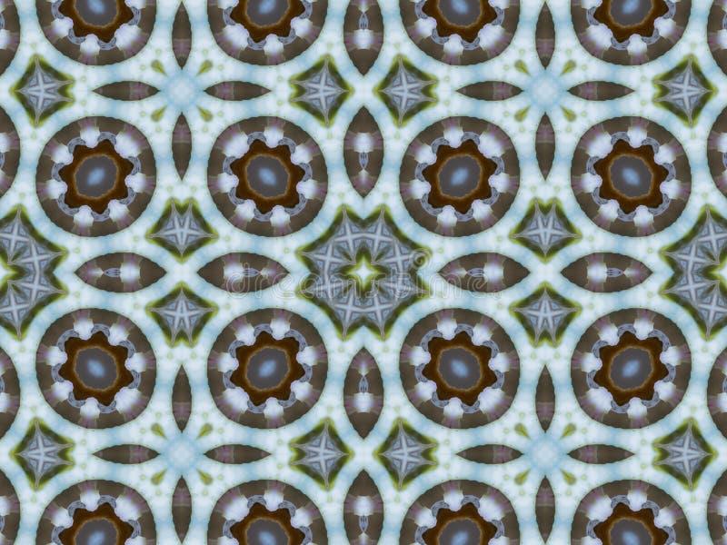 Абстрактный декоративный калейдоскоп предпосылки иллюстрация штока