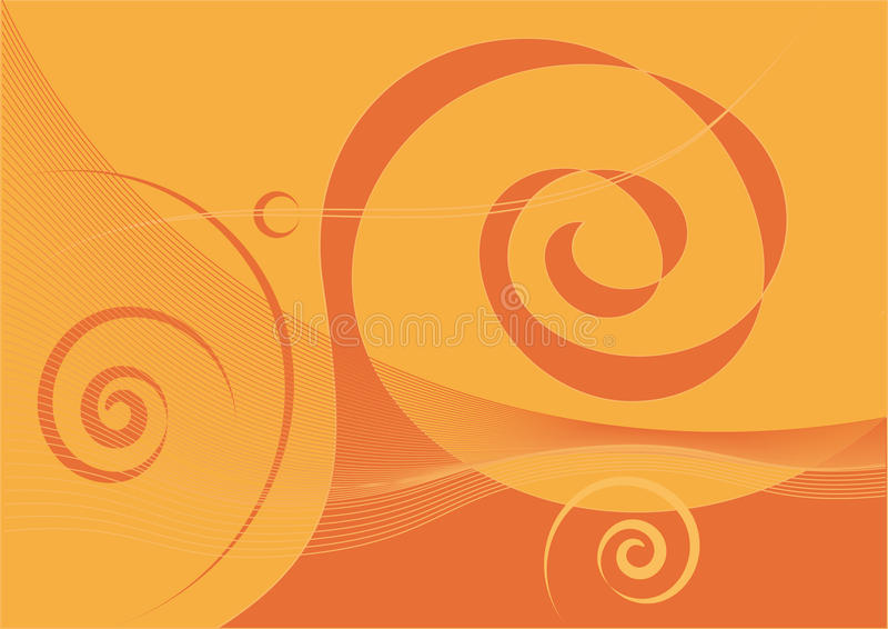 абстрактный желтый цвет коричневого цвета предпосылки иллюстрация вектора