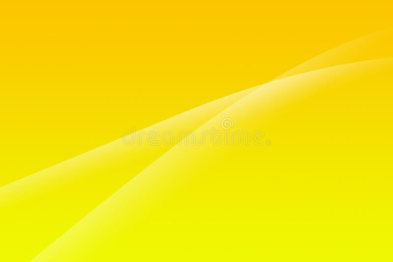 абстрактный желтый цвет предпосылки бесплатная иллюстрация