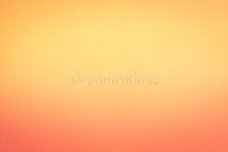 Абстрактный желтый цвет бумаги предпосылки акварели, апельсин стоковые фотографии rf