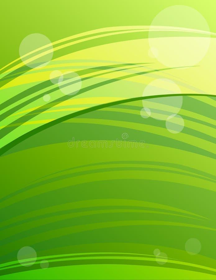 абстрактный зеленый цвет предпосылки самомоднейший иллюстрация вектора