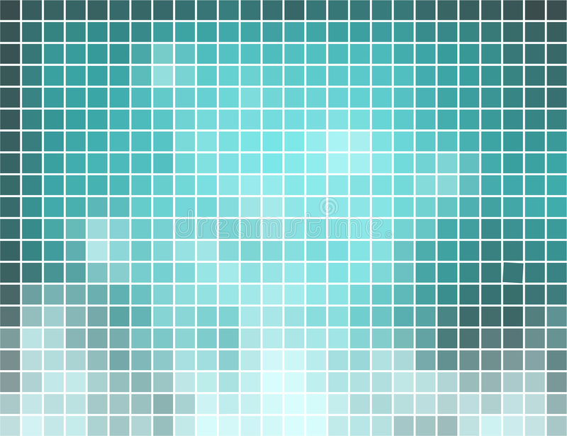 абстрактный квадрат мозаики предпосылки иллюстрация штока