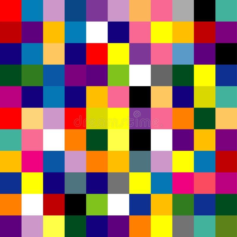 абстрактный квадрат иллюстрация штока