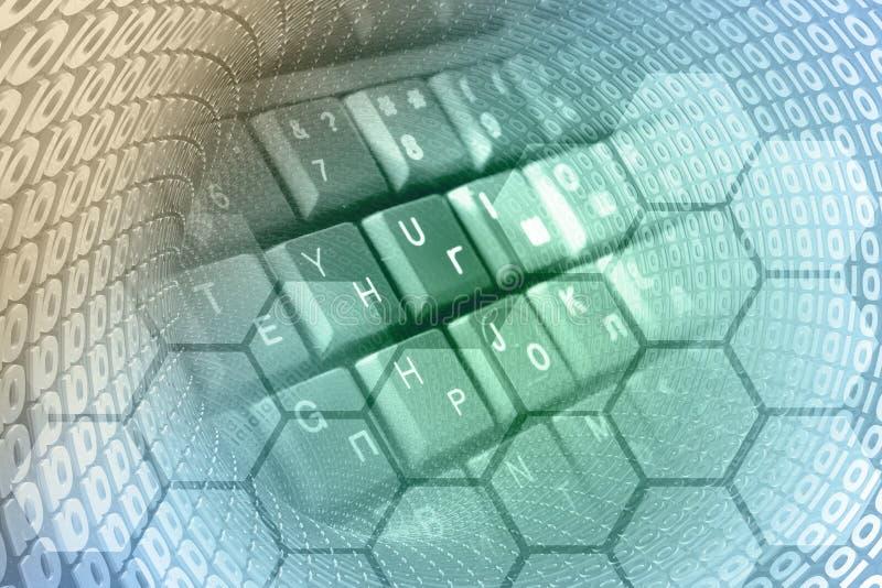абстрактный компьютер состава предпосылки схематический бесплатная иллюстрация