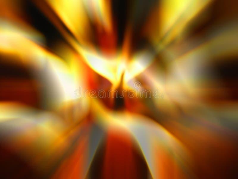 абстрактный компьютер увеличил фото иллюстрация штока