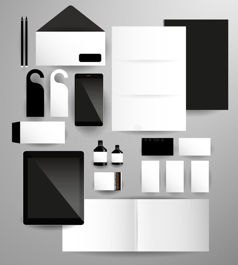 Абстрактный комплект дела в стиле битника бесплатная иллюстрация