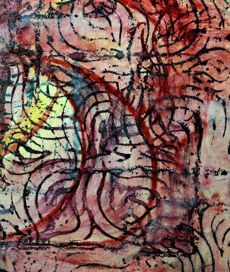 абстрактный конструктор драматический бесплатная иллюстрация