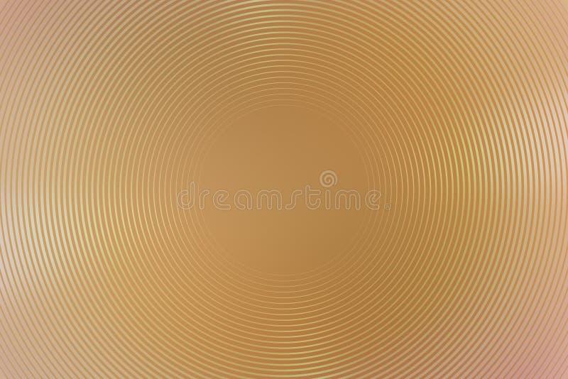 Абстрактный коричневый цвет градиента предпосылки радиальный asama иллюстрация вектора