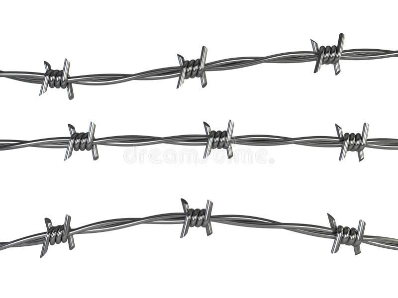 абстрактный колючий провод иллюстрации схематической конструкции иллюстрация штока