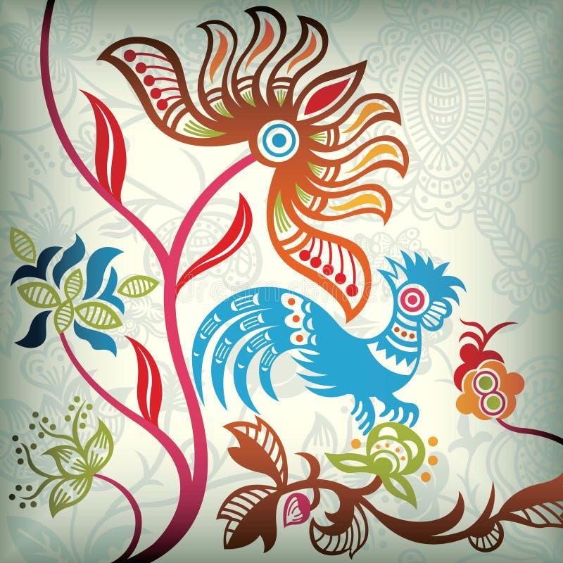 абстрактный кран флористический бесплатная иллюстрация