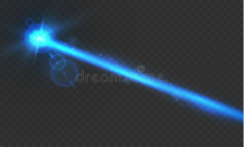 Абстрактный красный лазерный луч Прозрачное изолированное на черной предпосылке также вектор иллюстрации притяжки corel световой  иллюстрация вектора