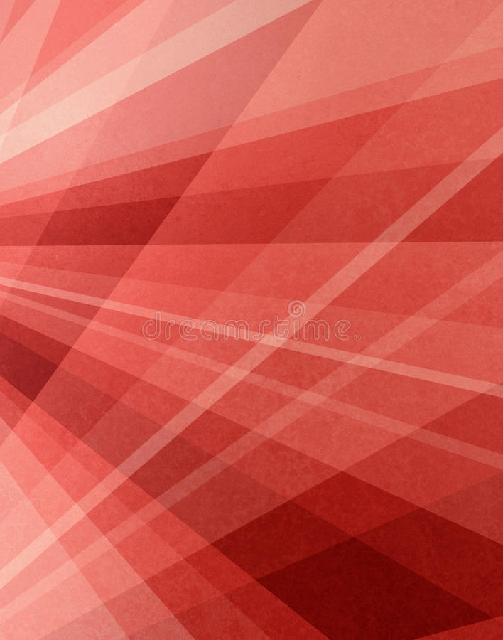 Абстрактный красный розовый и белый дизайн предпосылки с текстурой и измерительной линией дизайном перспективы иллюстрация вектора