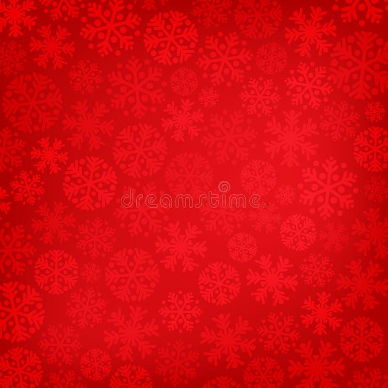 абстрактный красный цвет рождества предпосылки бесплатная иллюстрация